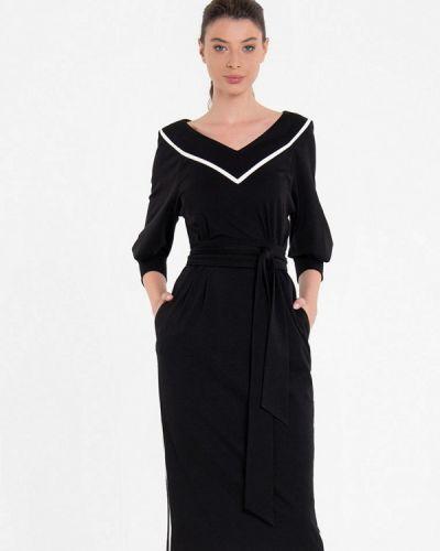 Повседневное черное платье Lo