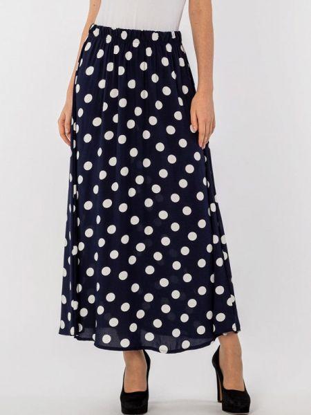 Юбка широкая синяя S&a Style