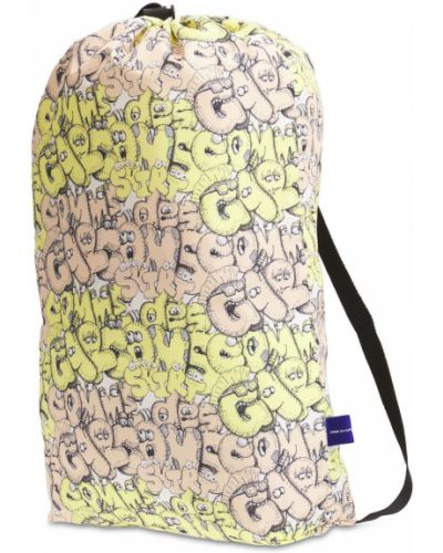 Żółta torba z printem Comme Des Garcons Shirt