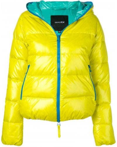Куртка с капюшоном - желтая Duvetica