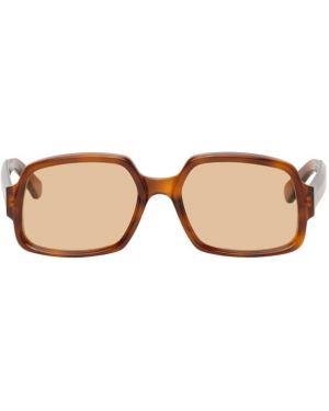 Okulary przeciwsłoneczne pomarańczowy Gucci