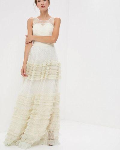 Платье макси бежевое X'zotic