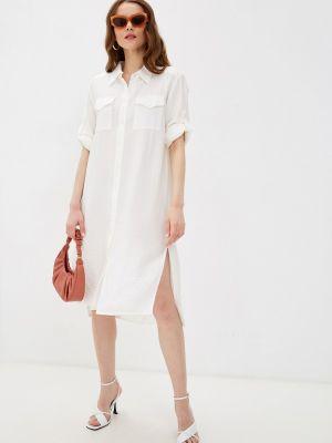 Пляжное белое платье Petit Pas