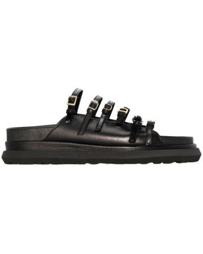Czarne sandały Sacai