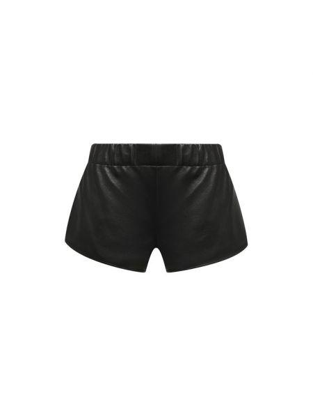 Спортивные шорты черные короткие Saint Laurent