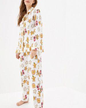 Белая пижама Pjmood