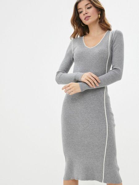 Платье - серое Sela
