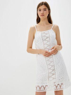 Сарафан белый хлопковый Fresh Cotton