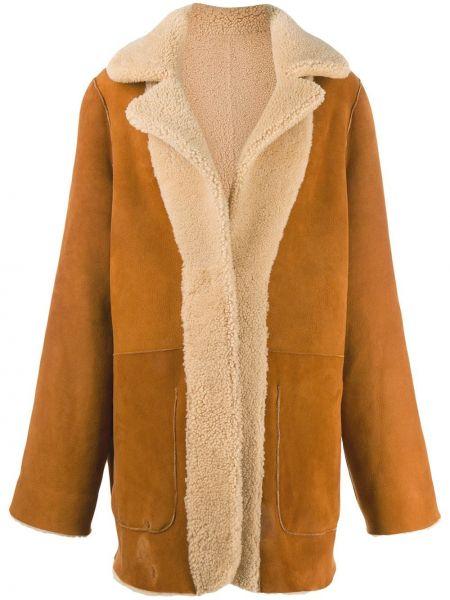 Пальто оверсайз - коричневое Natasha Zinko