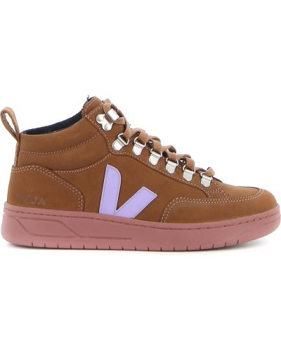 Brązowe sneakersy Veja