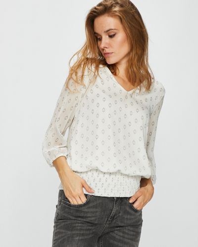 Блузка на резинке с V-образным вырезом Vero Moda