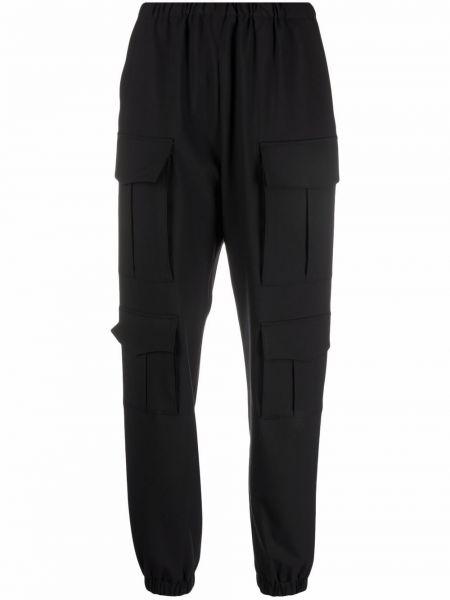 Черные прямые брюки Seventy