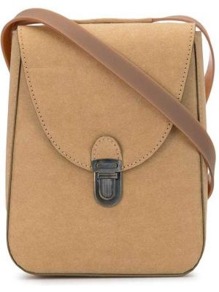 Кожаная коричневая кожаная сумка Cherevichkiotvichki
