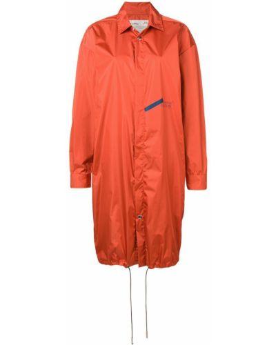 Пальто классическое с капюшоном с воротником A-cold-wall*