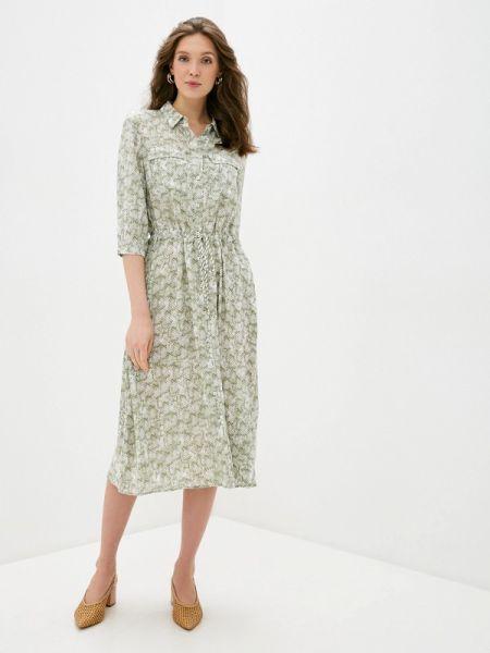 Зеленое платье Taifun