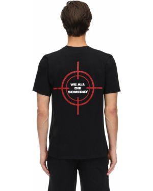 Czarny t-shirt bawełniany Mafia Szn