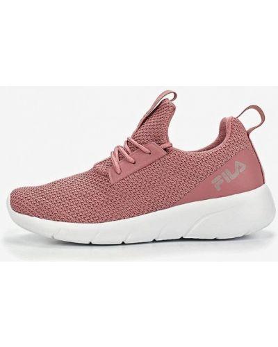Розовые кроссовки низкие Fila