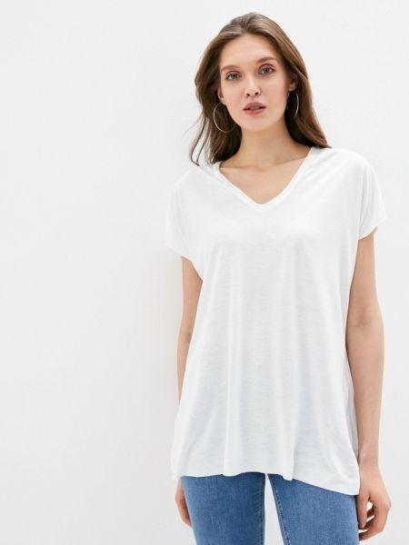 Блузка с коротким рукавом белая весенний Adl