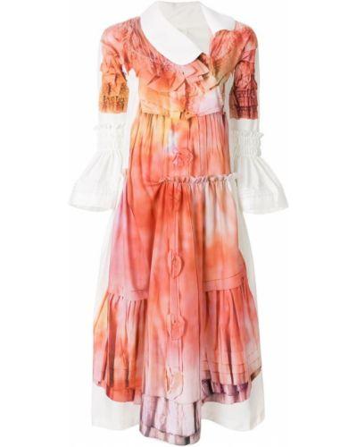 Платье миди на молнии с воротником Comme Des Garçons Comme Des Garçons