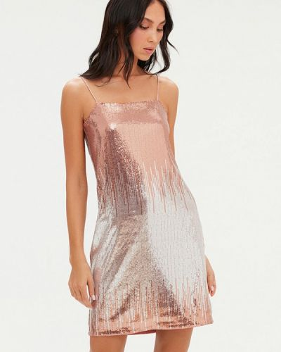 Розовое вечернее платье Love Republic