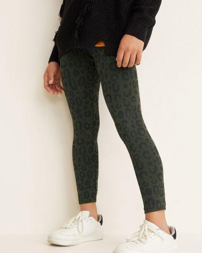 Зеленые брюки Mango Kids