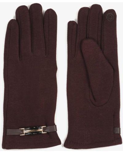 Brązowe rękawiczki materiałowe Renee