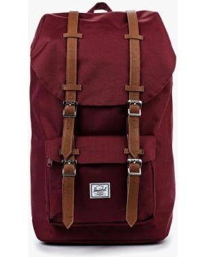 Красный текстильный рюкзак Herschel Supply Co