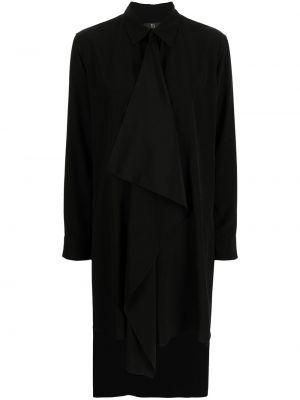 Czarna koszula z długimi rękawami Ys