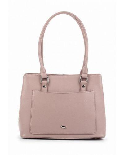 Розовая кожаный сумка Labbra