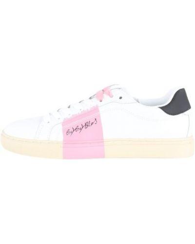 Różowe sneakersy Byblos