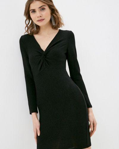 Черное платье-футляр Zabaione