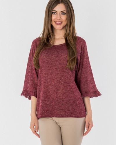 Блузка бордовый весенний S&a Style