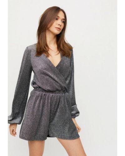 Комбинезон с шортами - серебряный Karree