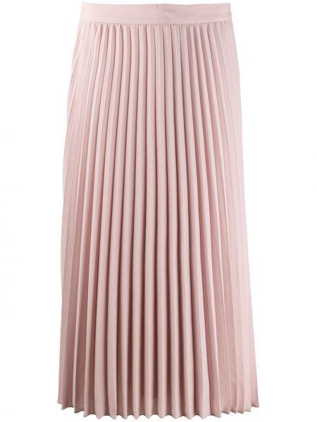 Плиссированная юбка миди с запахом Luisa Cerano