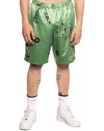Zielone bermudy Grimey