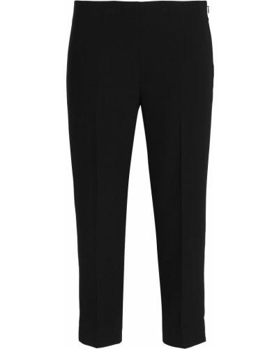 Черные брюки из крепа Elie Tahari