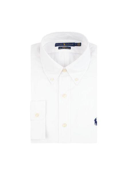 Bawełna puchaty biały koszula Polo Ralph Lauren