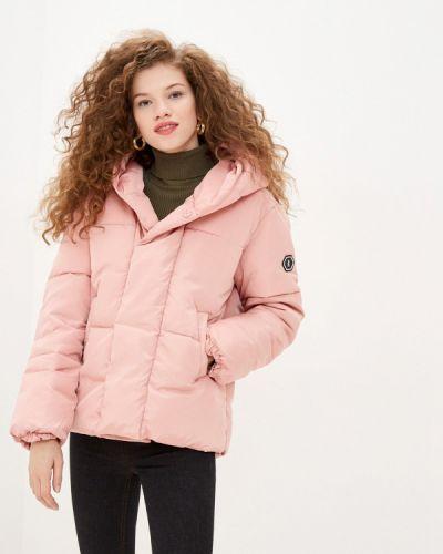 Утепленная розовая куртка Sh