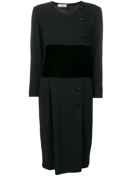 Платье с поясом винтажная на пуговицах Valentino Pre-owned