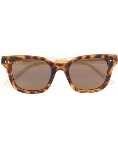 Солнцезащитные очки - коричневые Maui Jim