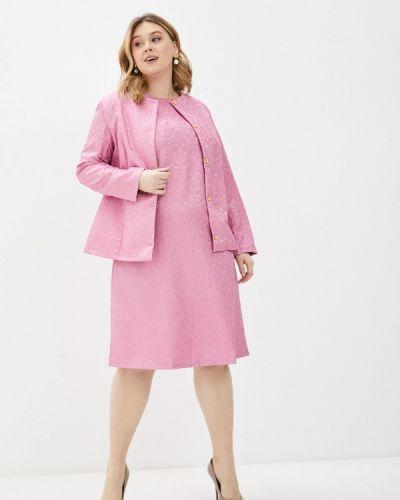 Повседневное розовое платье Prewoman