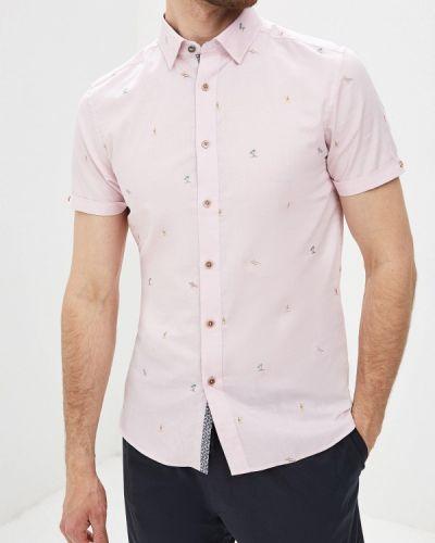 Рубашка с короткими рукавами розовый турецкий Ted Baker London