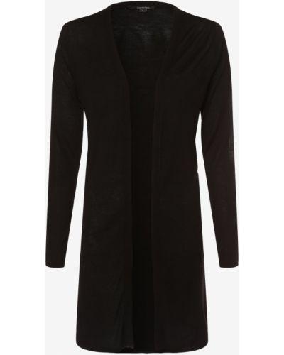 Czarny garnitur elegancki dzianinowy Comma