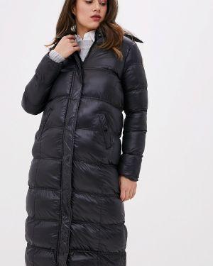 Зимняя куртка утепленная черная Brave Soul