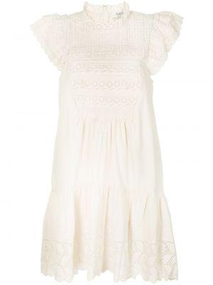 Кружевное платье мини Sea
