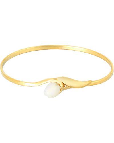 Золотой браслет позолоченный с подвесками из золота Nina Ricci