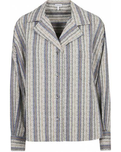 Szara koszula Loewe