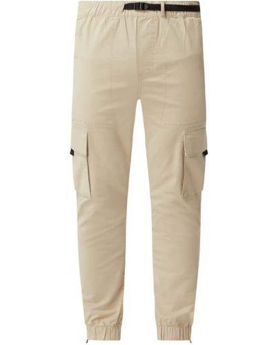 Beżowe spodnie bawełniane Review