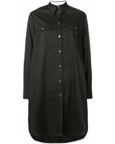 Платье на пуговицах из поплина Calvin Klein