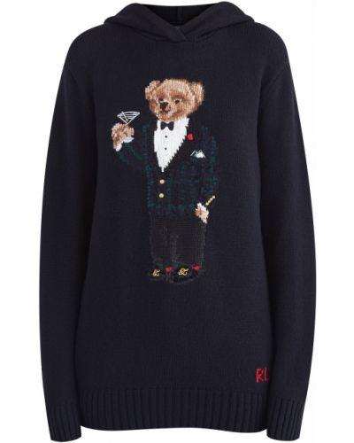Джемпер с капюшоном на резинке Polo Ralph Lauren